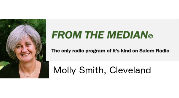 """Radio Interview """"From the Median"""" host Molly Smith"""