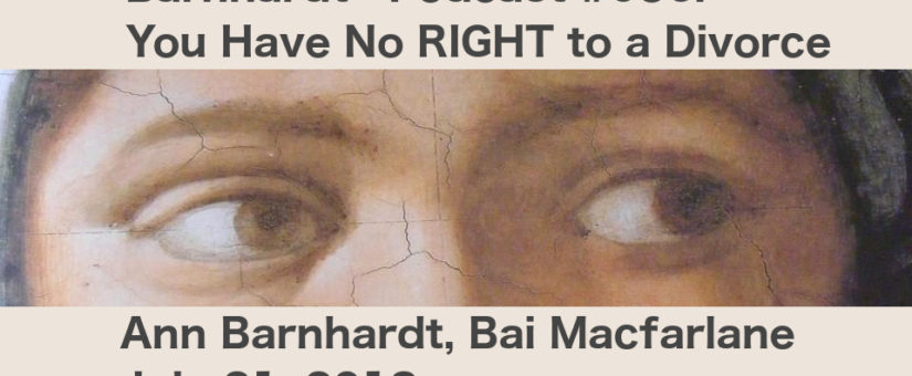Ann Barnhardt Podcast with Bai Macfarlane