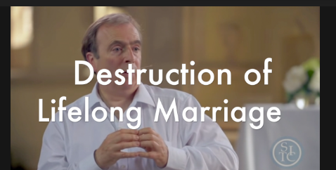 Fundamental Revolution – No Fault Divorce, Peter Hitchens